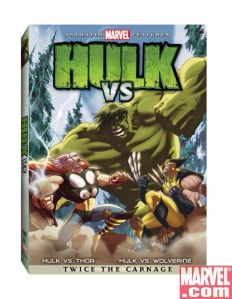 Hulk Vs DVD