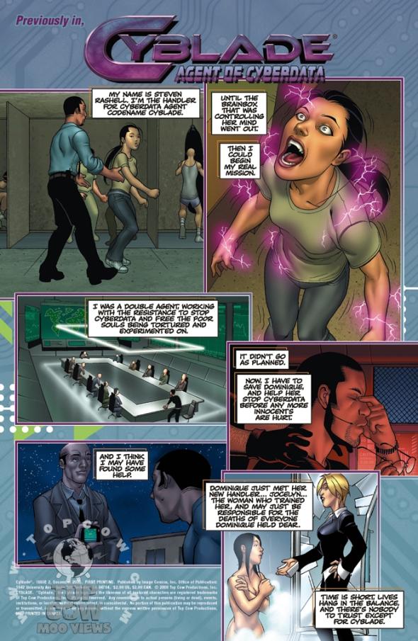 Cyblade 2 Page #0