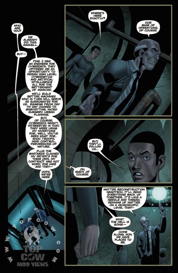 Cyblade #2 Page 1