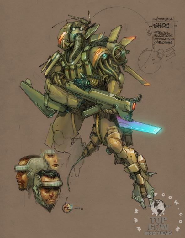 Cyberforce/Hunter-Killer Designs 3
