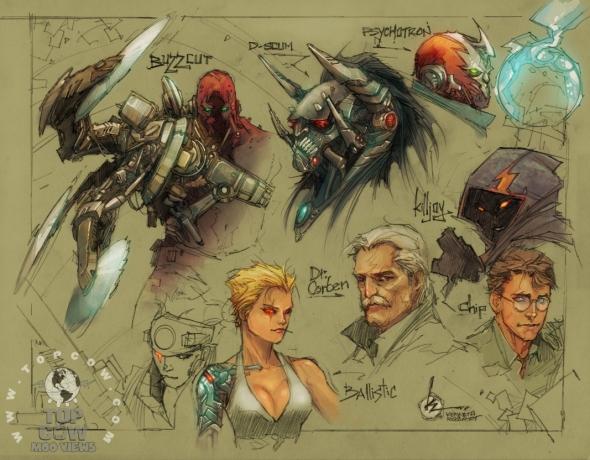 Cyberforce/Hunter-Killer 4