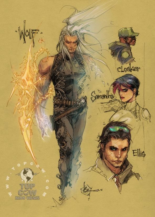 Cyberforce/Hunter-Killer Designs 5