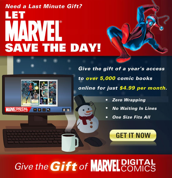 Marvels' Digital Comics Unlimited