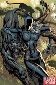 Black Panther #1 J. Scott Campbell Cvr