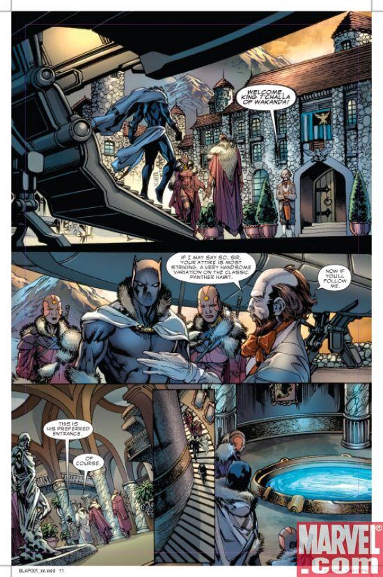 Black Panther #1 P4