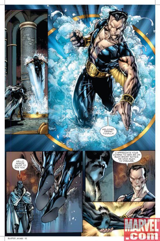 Black Panther #1 P5