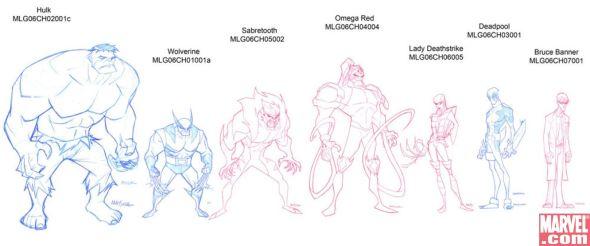 Hulk Vs Character Gallery