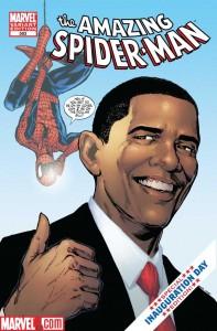 Amazing Spider-Man #583 Obama Variant Cvr