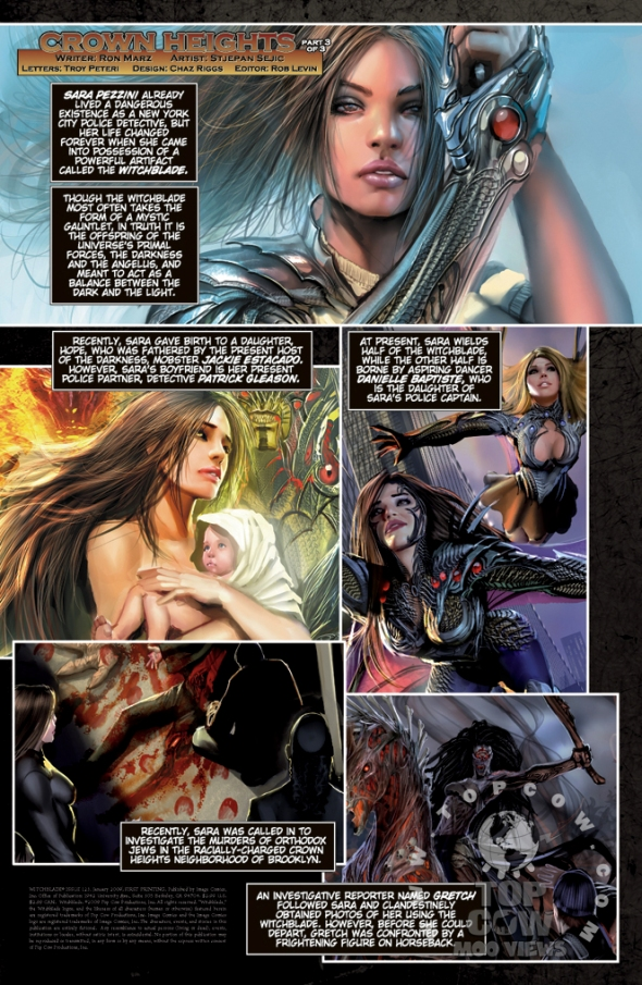 Witchblade #123 Intro